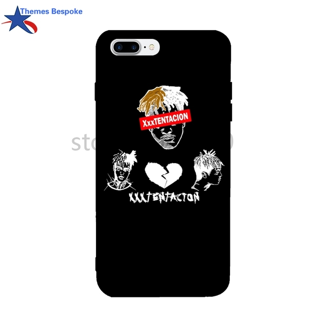 reputable site 4d368 e09ed US $8.0 |Xxxtentacion For Iphone 8 Case Ultra thin Protect Cover For Iphone  X/6s/8 Plus/6plus/7/7plus Soft TPU Colorful Cover For 6s Plus-in Fitted ...