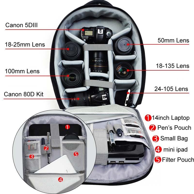 caden D10 Camera Bag 8