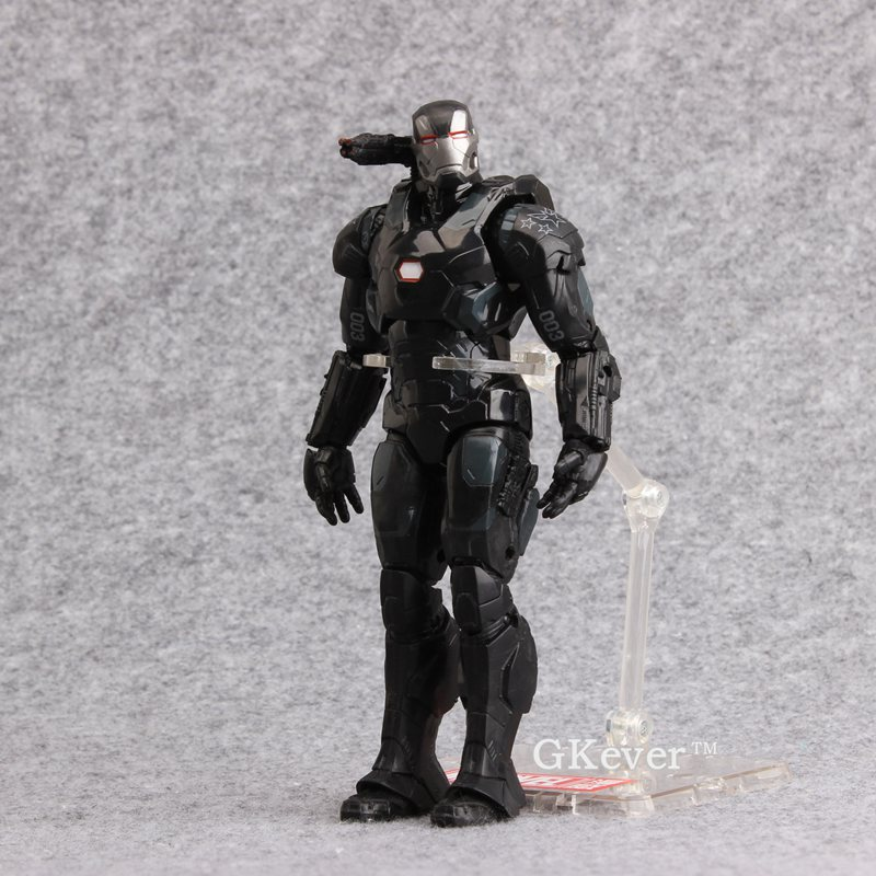 "Marvel Captain America 3 Civil War Iron Man War Machine 7/"" Action Figure Toy"