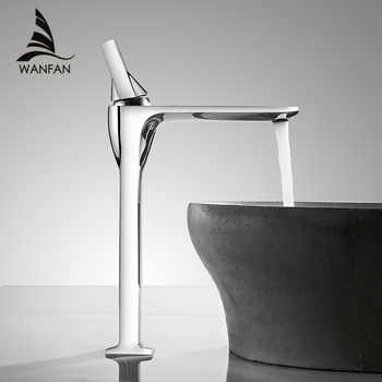 Basin Faucet Chrome Faucet Basin Taps Bathroom Sink Faucet Single Handle Hole Deck Vintage Wash Hot Cold Mixer Tap Crane 855003 - DISCOUNT ITEM  45% OFF All Category