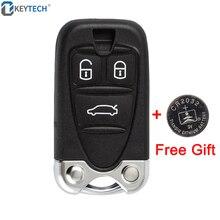 OkeyTech для ALFA ROMEO 159 Brera 156 паук 3 кнопки Замена корпус дистанционного управления автомобильный ключ оболочки с батареей CR2032