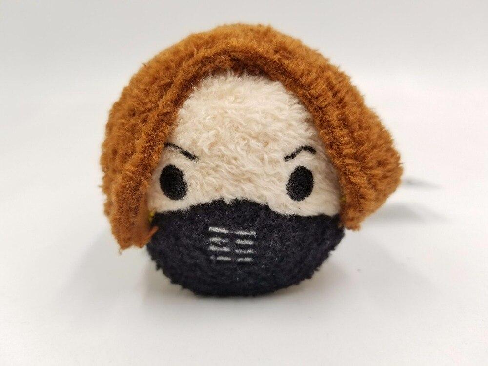 "3.5/"" New The Avengers Black Panther mini Tsum Tsum Stuffed Plush Toy Doll"