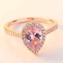 5702cf781424a Popular Natural Morganite Ring-Buy Cheap Natural Morganite Ring lots ...