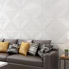 3d three-dimensional self-adhesive wallpaper living room bedroom brick wallpaper background wall foam self-adhesive sticker 3d wall sticker self adhesive for bedroom