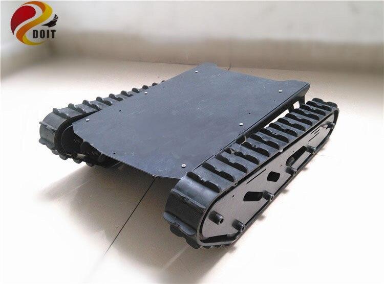 DOIT Carico di Grandi Dimensioni T007 Robot Telaio con Cingoli In Gomma per FAI DA TEDOIT Carico di Grandi Dimensioni T007 Robot Telaio con Cingoli In Gomma per FAI DA TE