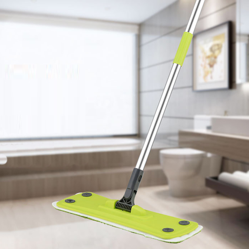 Bloom High Quality Telescopic Microfibre String Floor Mop With Handle
