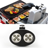 YAM Bright LED BBQ Grill Light-handle Núi Kẹp Ngoài Trời Led Light Lamp Đối Với Barbeque