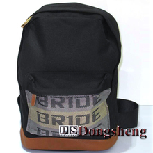 JDM Bride straps backpack Auto Racing bag Bride Fabric straps style school Car canvas backpack Car Styling Auto Bag