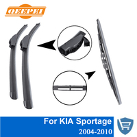 QEEPEI Front And Rear Wiper Blade No Arm For KIA Sportage 2004 2010 High Quality Natural