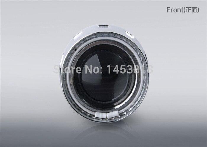 2GA 35 w Slim AC Ballast 2.5 ''pouces HID bi-projecteur lentille H7 H1 H4 HB3 HB4 9004 9006 rouge jaune blanc bleu Angel Eye CCFL