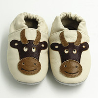 Leather Baby Shoes Moccasins Baby Girl First Walkers Flower Newborn Baby Shoes Boy Kids Infant Shoes