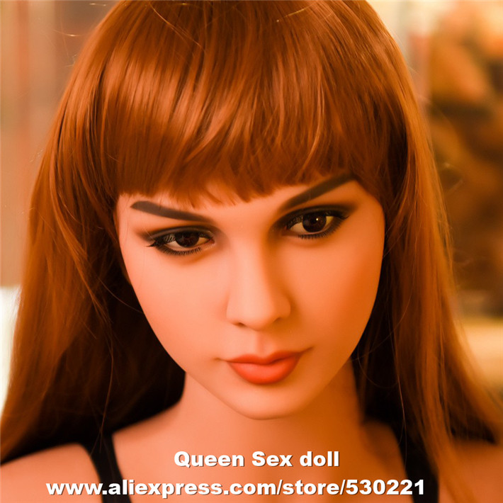 WMDOLL Top Quality Real Adult Doll Head For Tpe Sex Dolls