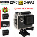 Free shipping!SJ8000 Wifi 4K 24FPS HD Sport Action Dash Helmet Camera Cam+1 Battery+32GB Card