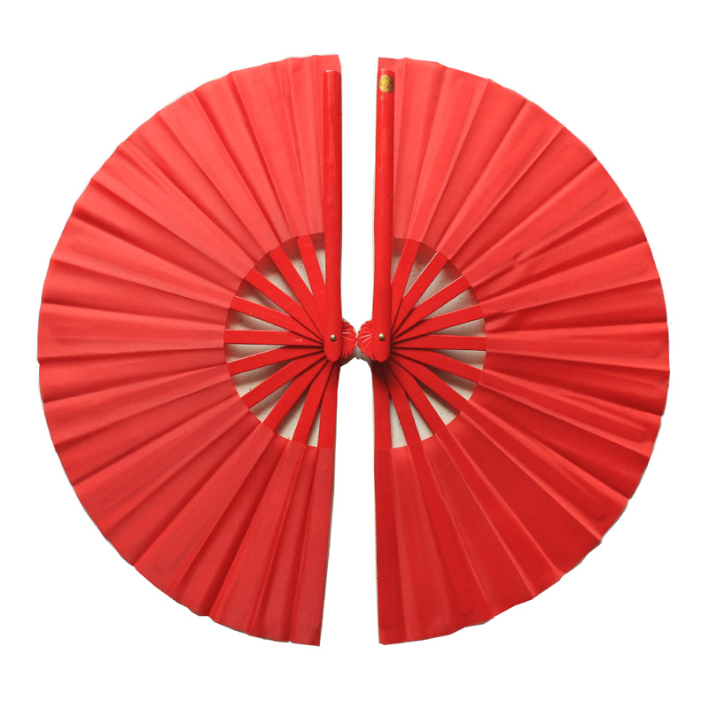 Simple Double Gong Fu Fans - Right and Left Handed