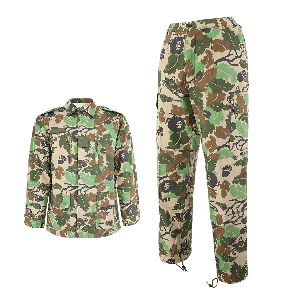 Mens Tactical Combat Airsoft Suit Camo Set Jacket Pants  Military BDU Uniform