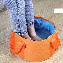 Портативный Открытый Путешествия складной умывальник для кемпинга раковина ведро миска раковина стиральная сумка ведро воды массаж ног