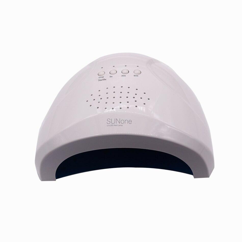 Sunone 48W LED UV Nail Gel Curing Lamp Light Nail Polish Dryer Nail Art Machine new pro 48w nail lamp manicure dryer fit uv led builder gel all nail polish nail art tools sun5 professional machine