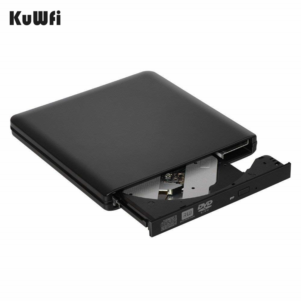 USB 3.0 Portable External DVD RW/CD RW Burner Writer Rewriter External DVD CD Burner Drive Optical Disc Drive CD DVD ROM Player