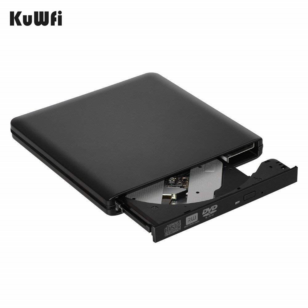 USB 3.0 Portable External DVD-RW/CD-RW Burner Writer Rewriter DVD CD Drive Optical Disc ROM Player