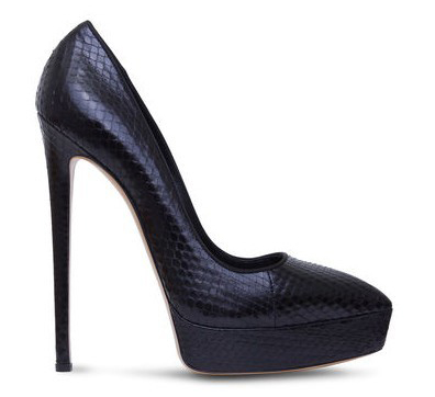 New Women Platform Pumps 12cm Sexy Snake Thin High Heels Ladies Party Shoes Pointed Toe Office Shoes