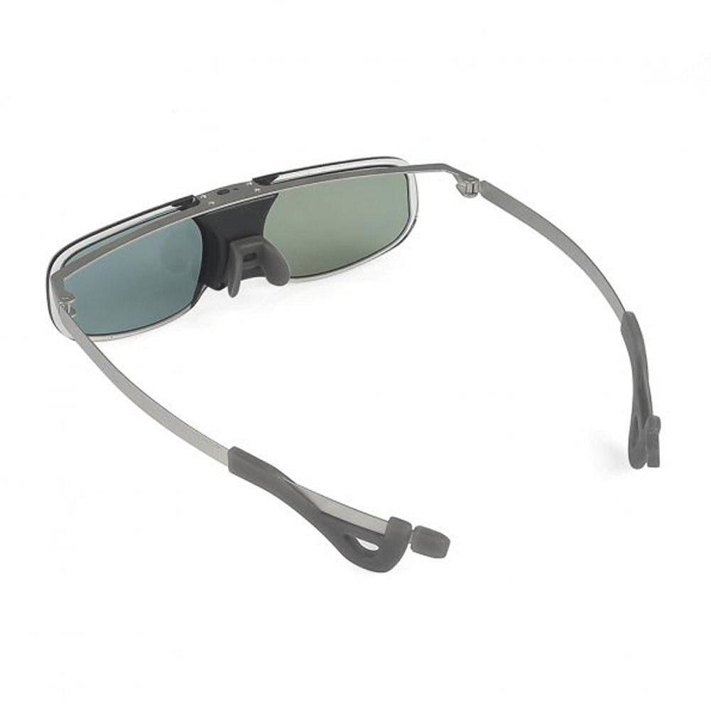 10M 144Hz 3D Active Rechargeable Shutter Glasses for Acer ViewSonic BenQ Vivitek Optoma 3D DLP-Link Ready Projector Silver