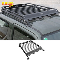 BAWA Car Exterior Roof Rack Basket Metal Luggage Carrier Box for for Suzuki Jimny 2007+ Accessories
