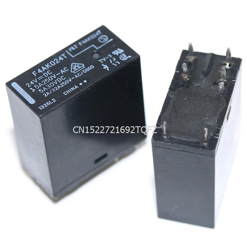 10pcs   FTR-F4AK024T 24V F4AK024T F.T-F4AK024T 24vdc   New And Original