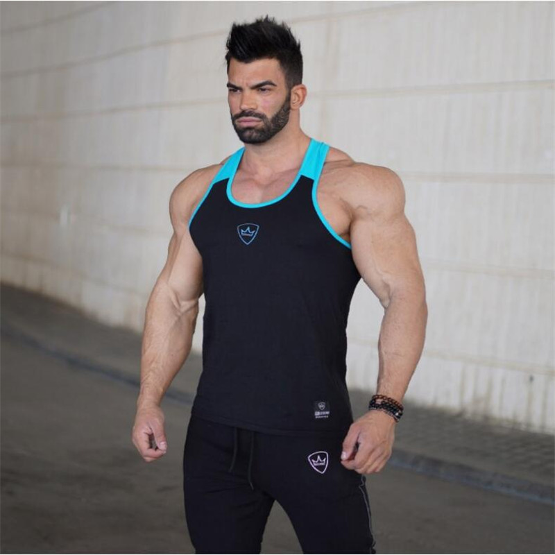 BeLegend 2018 New Fitness Men Tank Top Mens Bodybuilding Stringers Tank Tops Singlet Brand Clothing