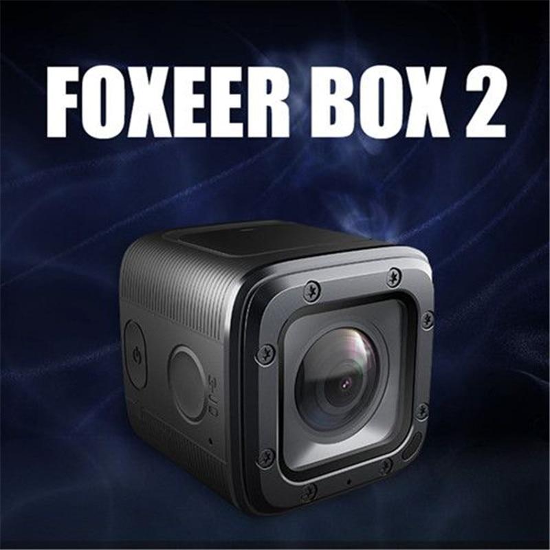 Darmowa wysyłka Foxeer Box 2 4 K 30Fps HD 155 stopni filtr ND FOVD nadzorem FPV działania uchwyt na aparat aplikacji Micro port HDMI w Części i akcesoria od Zabawki i hobby na  Grupa 1