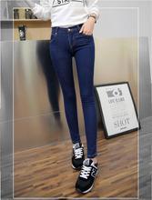 Spring 2017 Jeans Ms Korea Explosion Version Of Slim Thin Leg Pants Pencil Pants Jeans Wholesale