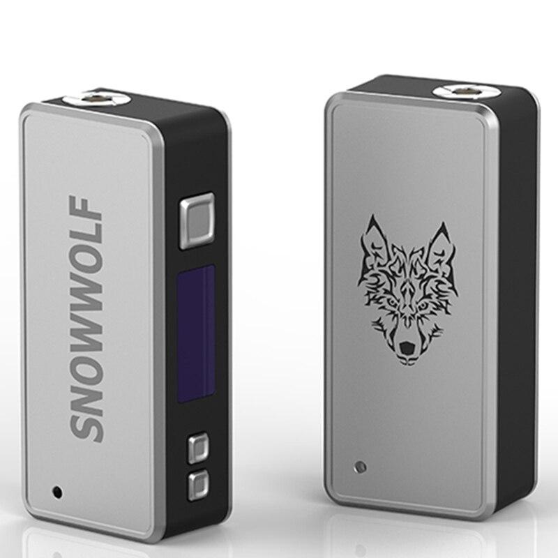 Précommande Sigelei Snowwolf 85 W Mod boîte à cigarettes électronique forme Mod pour Snowwolf 85 W Mod Kit TC Vape boîte Mod câble USB