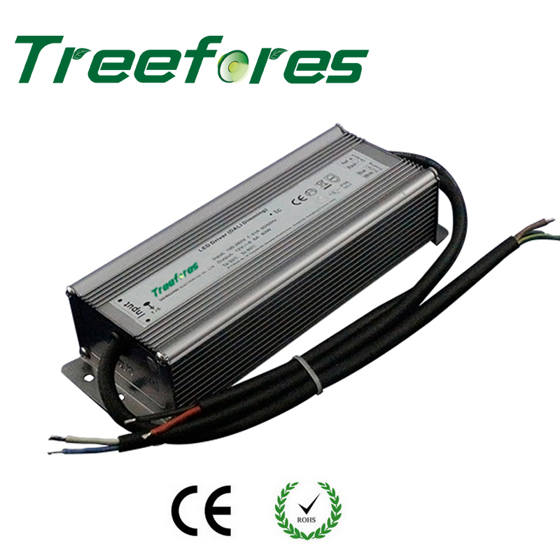 ФОТО IP67 Waterproof 0/1-10V PWM Dimmable 100W DC 12V 24V Led Regulator Led Transformer Power Supply Dimming