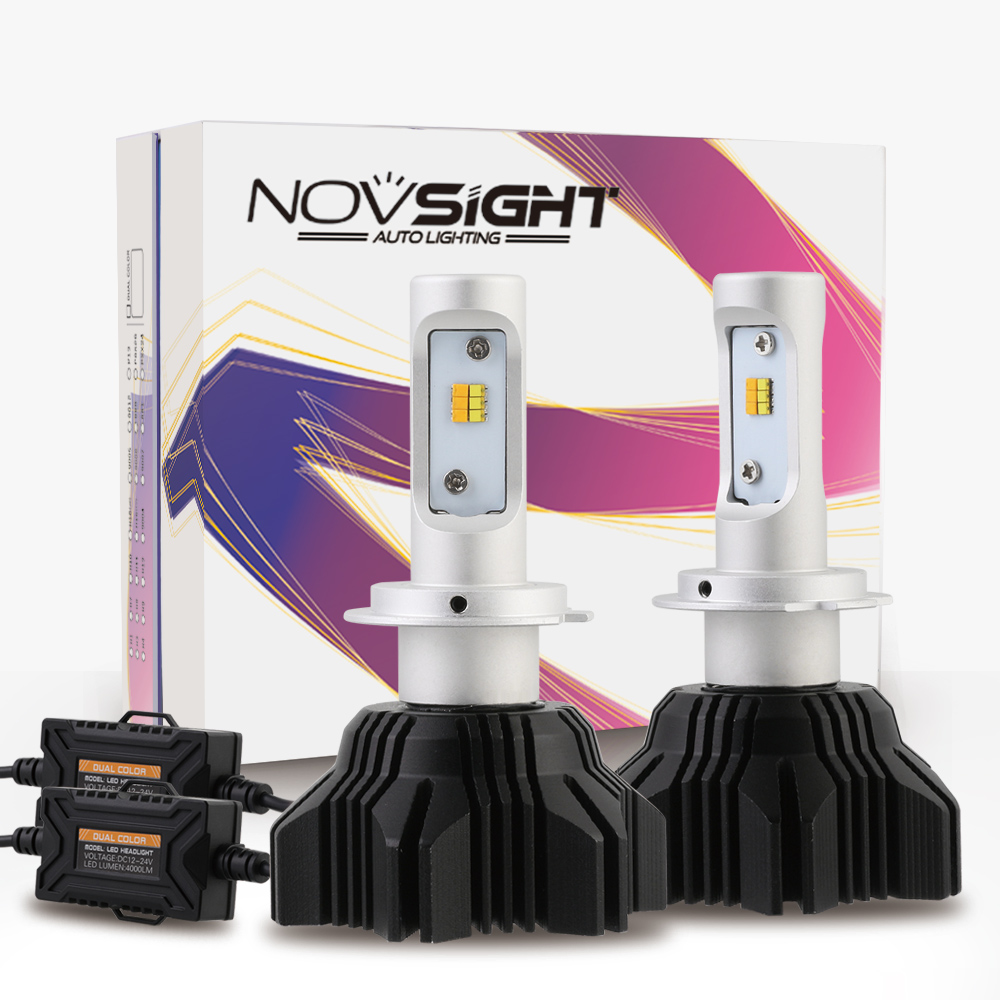 NIGHTEYE Led Car Headlight Bulbs 9005/HB3 9006HB4 9012 H4 9003 H7 H11 H13 000LM 50/Set 6500K Car Fog Light Bulb Car Light Source 1 set 9012 hir2 90w pair philip lumiled headlight 9000lm luxeon mz brighter white 6500k car truck 45w bulb 4500lm h4 h7 h9 h13 page 2