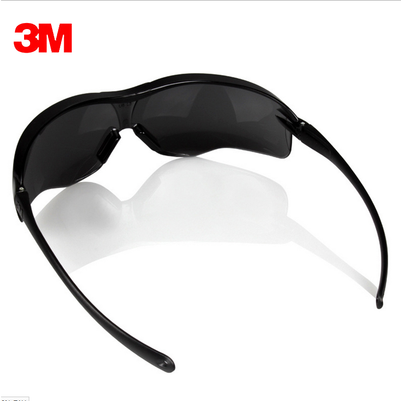 3M 10435 Keselamatan Potective Black Goggles Glasses Untuk Anti-UV - Keselamatan dan keamanan - Foto 2