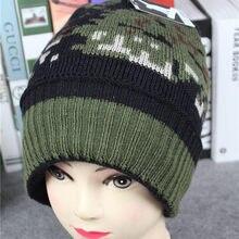 Donne Cappello Caldo Dell orecchio Mosaico Modello Crochet del Knit di  Inverno Berretti Cappello di Modo Delle Signore Berretti . a144950e80b2
