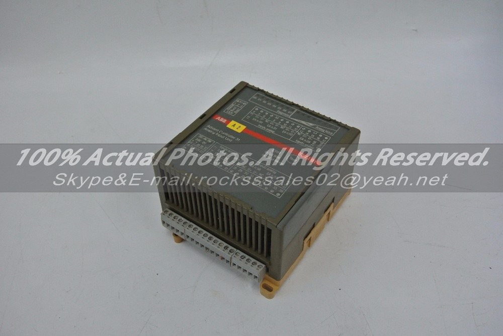 ANALOG INPUT UNIT GJR5251600R0202 07AI91C Used in good condition With Free DHL /EMS