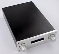 WA8 min aluminum amplifier chassis Tube amp amplifierDAC Decoder case AMP Enclosure case DIY box (190*65*275mm)