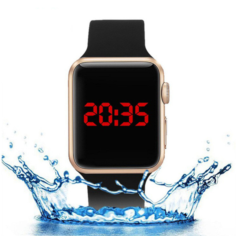 Mens Watches Top Brand Luxury Military Sports Watch Men Digital LED Waterproof Wrist Watch Relogio Masculino Erkek Kol Saati