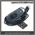 100% Logitech C270 HD Vid 720P Webcam With MIC Micphone Video Calling For Android TV,Easy Connect.
