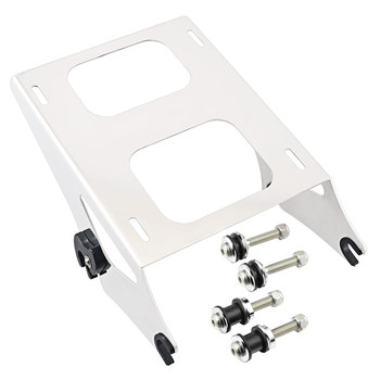 Motorcycle Detachable Rear 2- Up Pack Luggage Rack Fit for Harley Touring Road King FLHT FLHX FLTR FLHP Street Glide FLHXS 14-19