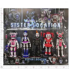New Arrival Five Nights At Freddy\'s Action Figure Toy Foxy Freddy Fazbear Bear FNAF PVC Figures Toy For Kids Birthday Gift - DISCOUNT ITEM  40% OFF Toys & Hobbies