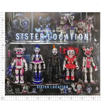 New Arrival Five Nights At Freddy\'s Action Figure Toy Foxy Freddy Fazbear Bear FNAF PVC Figures Toy For Kids Birthday Gift - Category 🛒 Toys & Hobbies