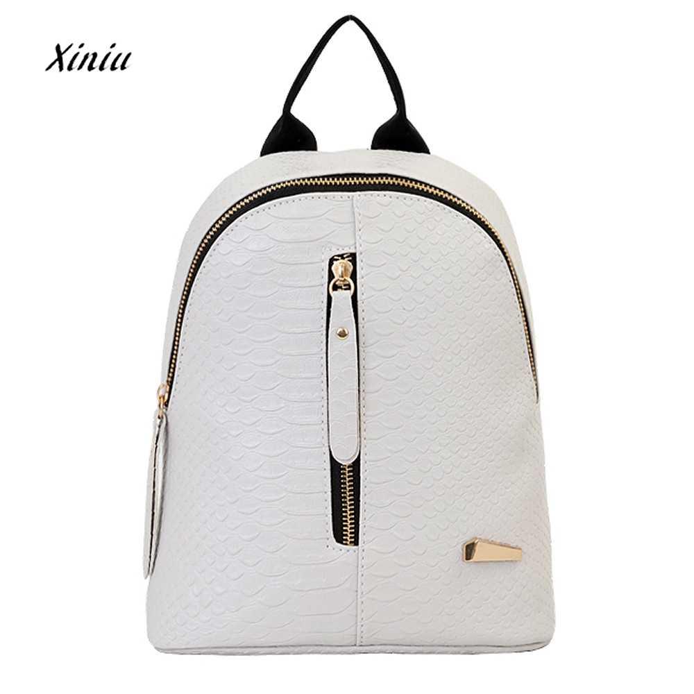 79a3d61279b4 Лидер продаж Для женщин кожаные рюкзаки школьные сумки для подростков модная  одежда для девочек Дизайн дорожная