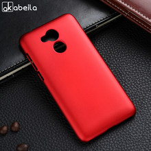 AKABEILA Case For Huawei Honor 6A Case Hard Plastic Matte Black Cases Coque For Huawei Honor 6A Play Cover Pro DLI-TL20 DLI-AL10(China)