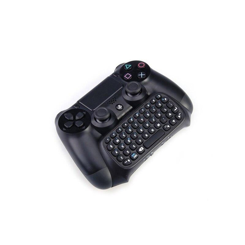 2 En 1 Miniconsolas De Juegos De Teclado De Mensajes Inalámbricos Bluetooth Para Sony Playstation 4 Ps4 Controlador