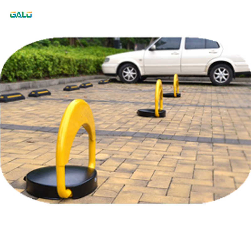High quality waterproof solar powered automatic car parking space lockHigh quality waterproof solar powered automatic car parking space lock