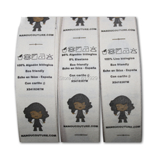 tape labels/tags cotton customizing