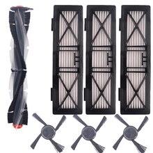 Rodillo y Cepillo Lateral y filtro para Neato Botvac serie D, D70, D75, D80, D85, conexión D3, D5, D7, piezas de coche para aspiradora
