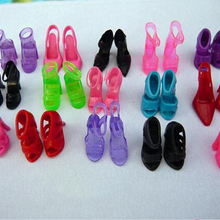 Little-Toy Shoes Doll-Accessories Dolls High-Heel Original Fashion for Sandals 12pair/Lot