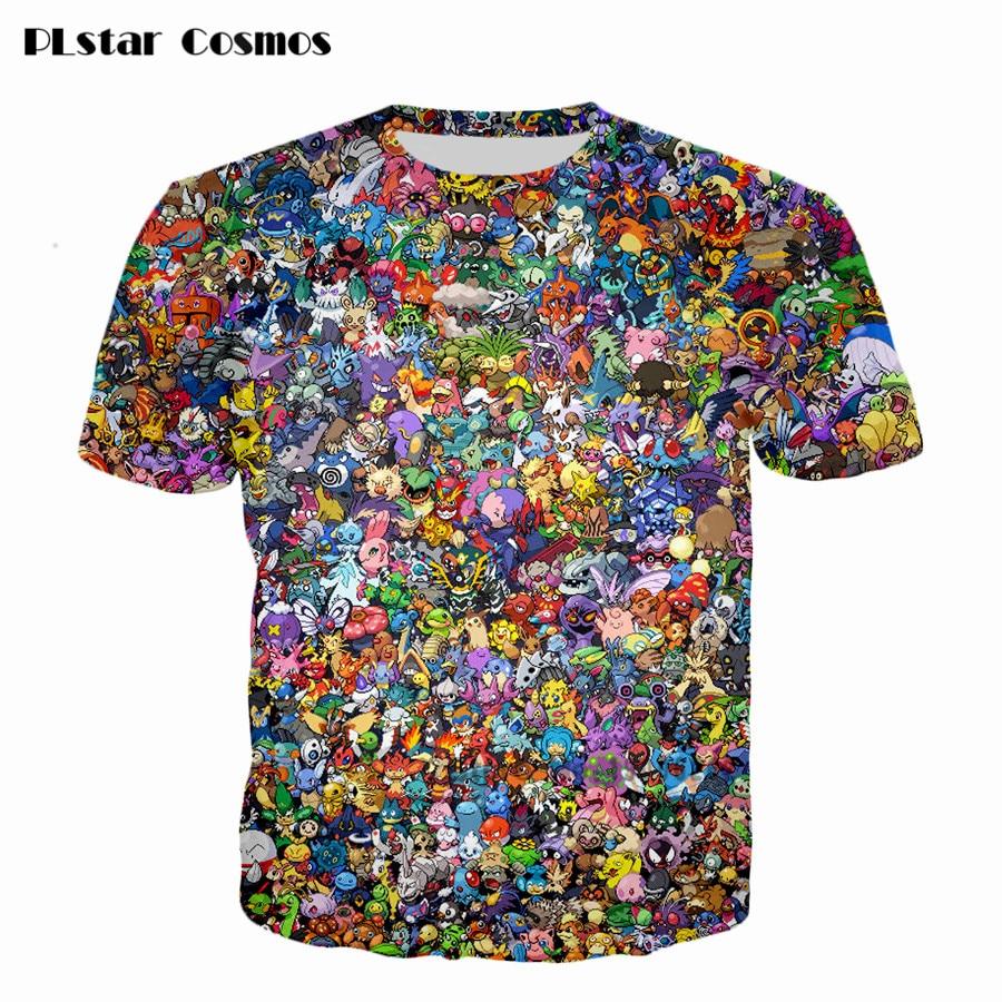 harajuku-style-cartoon-printing-short-sleeves-men-women-font-b-pokemon-b-font-collage-3d-t-shirt-casual-shirt-size-s-5xl-free-shipping